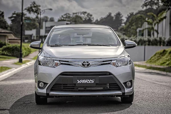 Toyota Yaris Lebanon April 2016. Picture courtesy nilemotors.net
