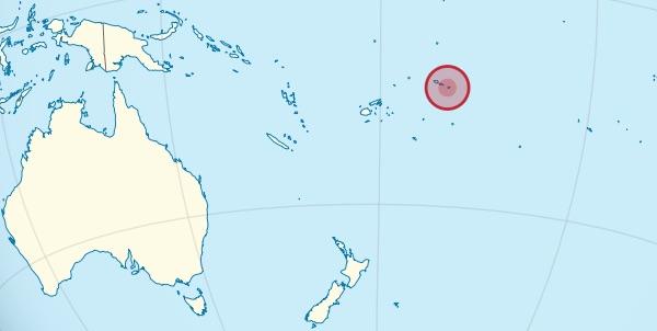 American Samoa location