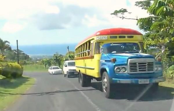 Cross Island Road Samoa 2013