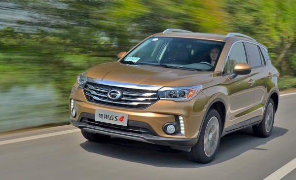 GAC Trumpchi GS4 China April 2016