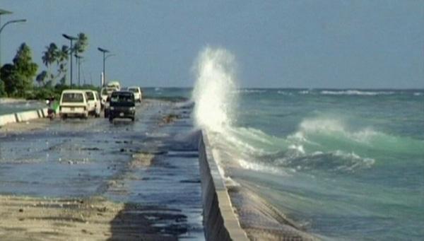 Kiribati floods