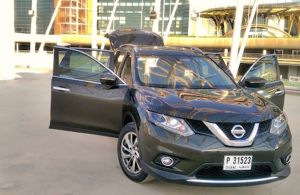 Nissan X-Trail Bahrain March 2015. Picture courtesy aliraq.info