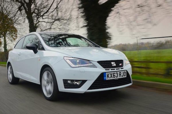 Seat Ibiza Spain April 2016. Picture courtesy autoexpress.co.uk