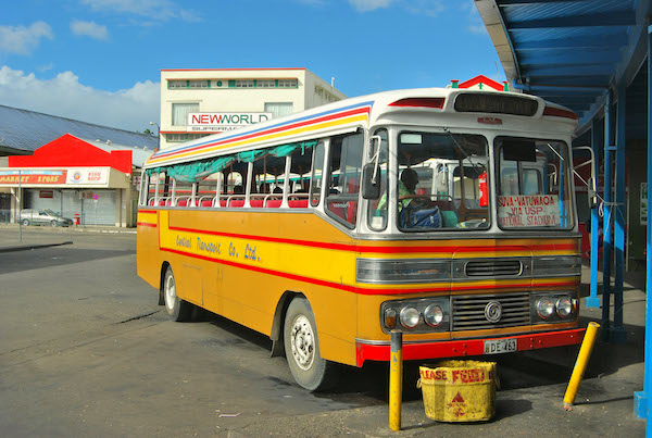 Suva Fiji bus. Picture courtesy dazman.info