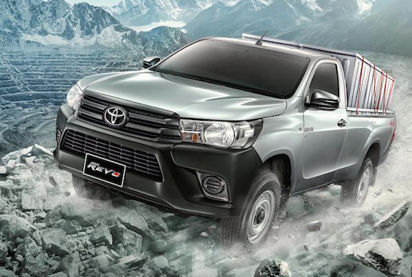 Toyota Hilux Revo Standard Cab Thailand May 2015
