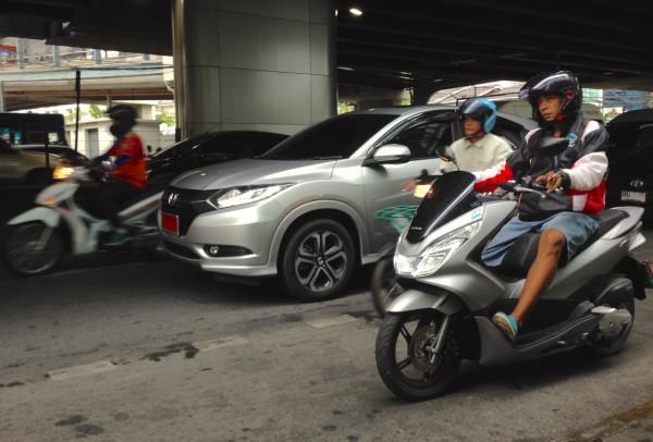 3. Honda HR-V Bangkok July 2015
