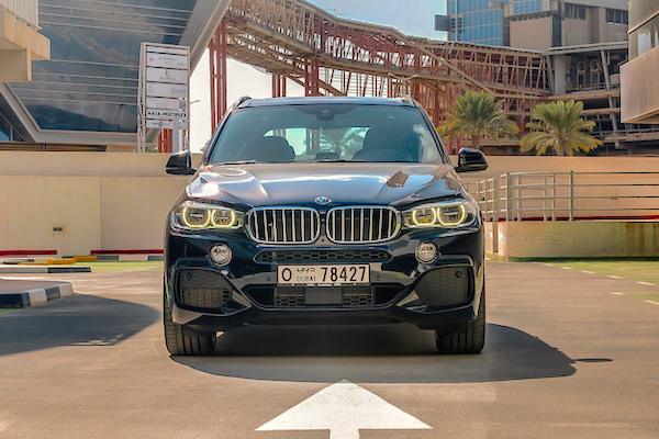 BMW X5 UAE March 2015. Picture courtesy carbonoctane.com