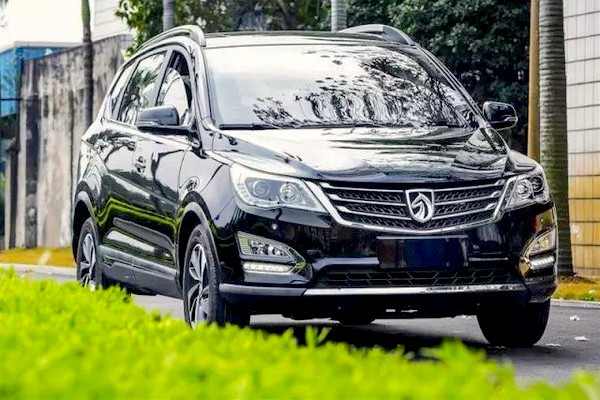 Baojun 560 China June 2015. Picture courtesy auto.sohu.com