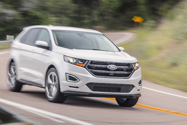 Ford Edge USA June 2015. Picture courtesy motortrend.com