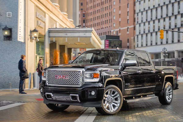 GMC Sierra 2015. Picture courtesy motortrend.com