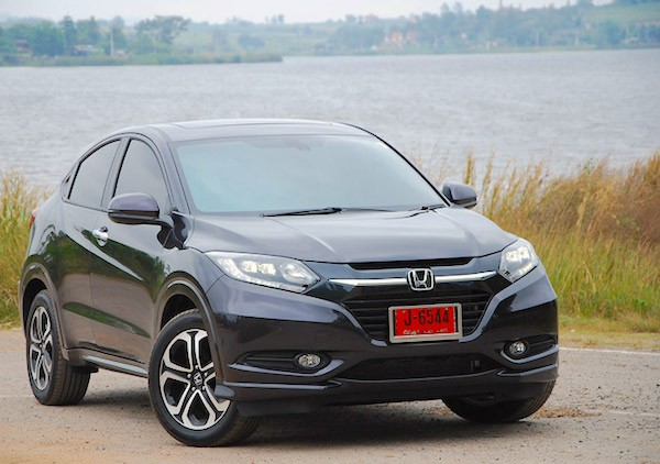 Honda HR-V Thailand June 2015. Picture courtesy manager.co.th