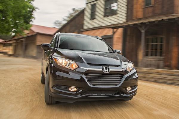 Honda HR-V Mexico September 2015. Picture courtesy motortrend.com