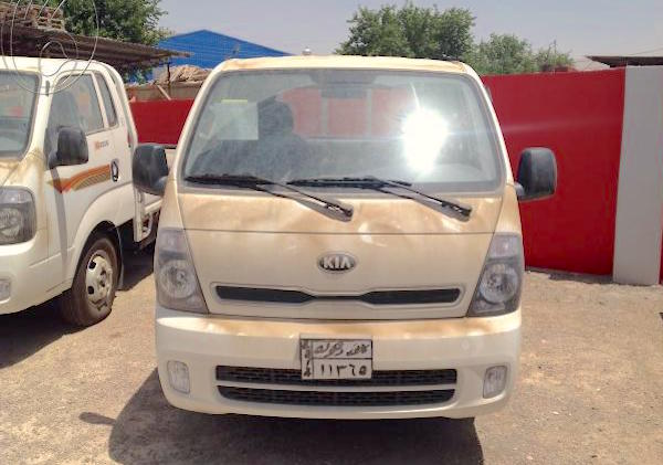 Kia Frontier Bongo Iraq March 2015. Picture courtesy iqbazaar.com