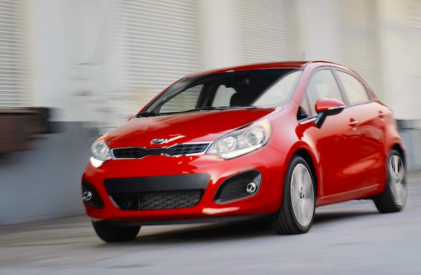 Kia Rio Chile June 2015. Picture courtesy motortrend.com