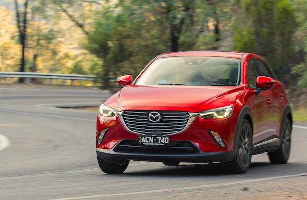 Mazda CX-3 Australia June 2015. Picture courtesy caradvice.com.au