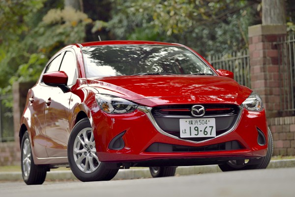 Mazda Demio Japan 2015. Picture courtesy autoc-one-jp