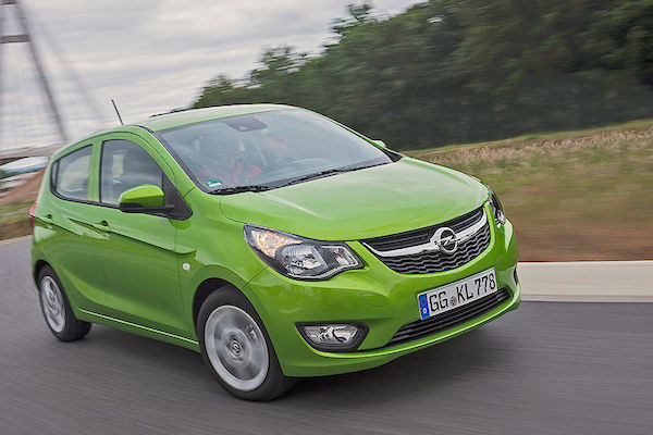 Opel Karl Germany June 2015. Picture courtesy autobild.de