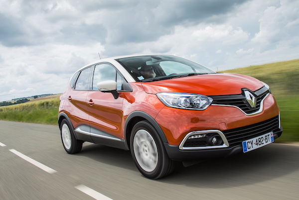 Renault Captur Slovenia June 2016. Picture courtesy largus.fr