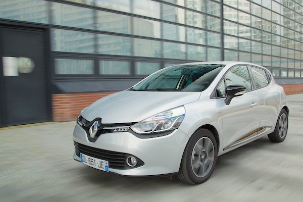 Renault Clio Poland August 2015. Picture courtesy largus.fr