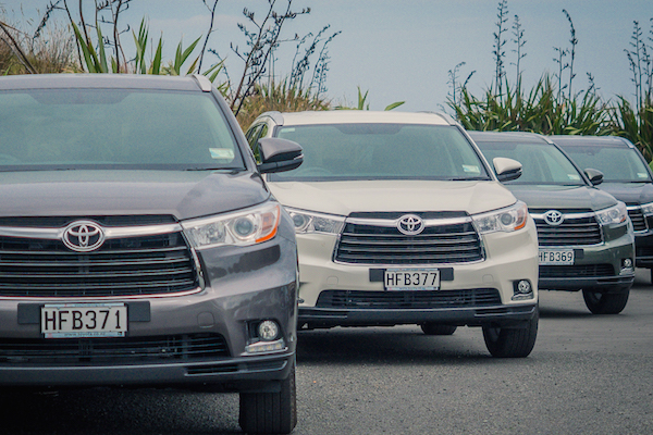 Toyota Highlander New Zealand June 2015. Picture courtesy autoclique.co.nz