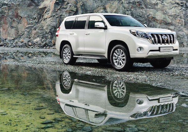 Toyota Prado Kuwait March 2015