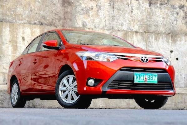 Toyota Vios Philippines June 2015. Picture courtesy carsguide.ph