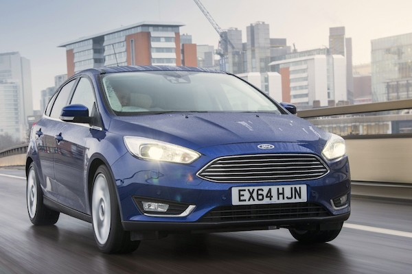 Ford Focus UK July 2015