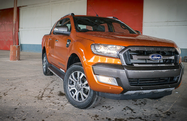 Ford Ranger Thailand July 2015. Picture courtest headlightmag.com
