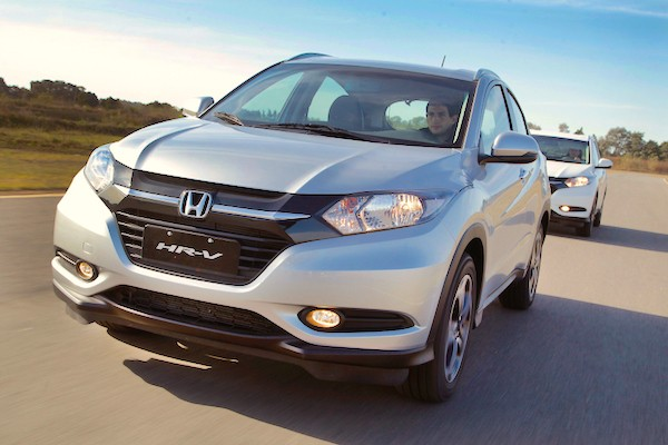 Honda HR-V Europe September 2015