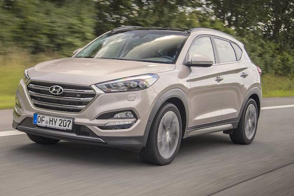 Hyundai Tucson Belgium 2016. Picture courtesy autocar.co.uk