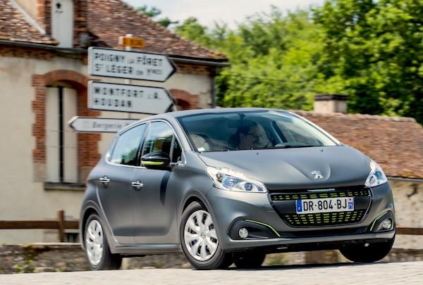 Peugeot 208 France 2016. Picture courtesy largus.fr