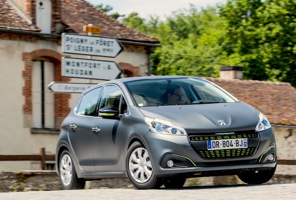 Peugeot 208 France 2016. Picture courtesy largus.fr