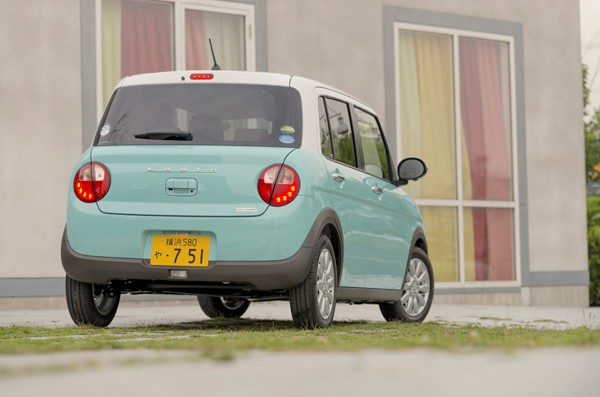 Suzuki Lapin Japan July 2015b. Picture courtesy autoc-one.jp