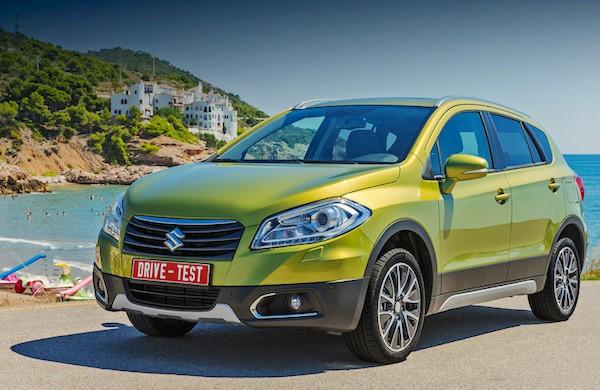 Suzuki SX4 Ukraine July 2015. Picture courtesy autoconsultant.com.ua