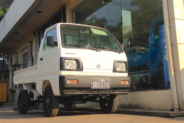 Suzuki Super Carry Myanmar June 2015