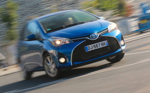 Toyota Yaris Finland November 2015. Picture courtesy automobile-magazine.fr