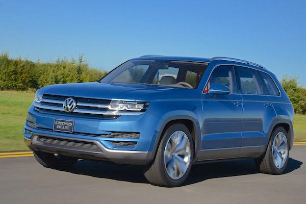 VW Cross Blue