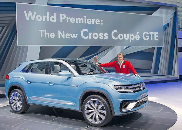 VW Cross Coupe GTE. Picture courtesy autobild.de