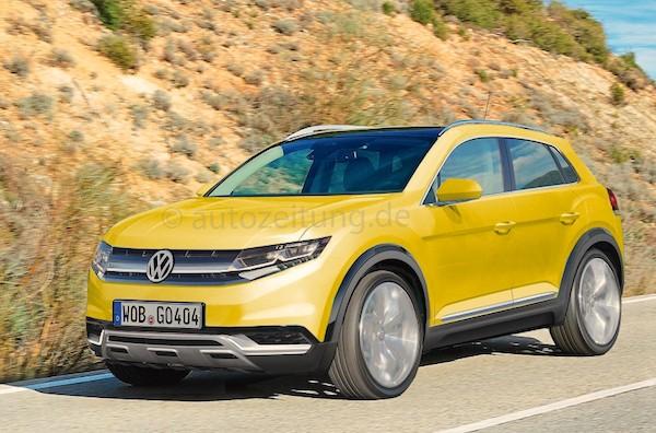VW Golf SUV. Picure courtesy autozeitung.de