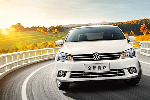 VW Jetta China July 2015