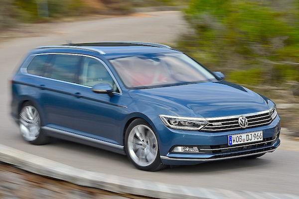 VW Passat Germany July 2015. Picture courtesy autobild.de