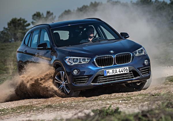 BMW X1 Frankfurt 2015