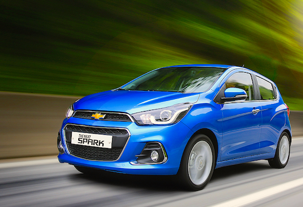 Chevrolet Spark South Korea 2016. Picture courtesy carlab.co.kr