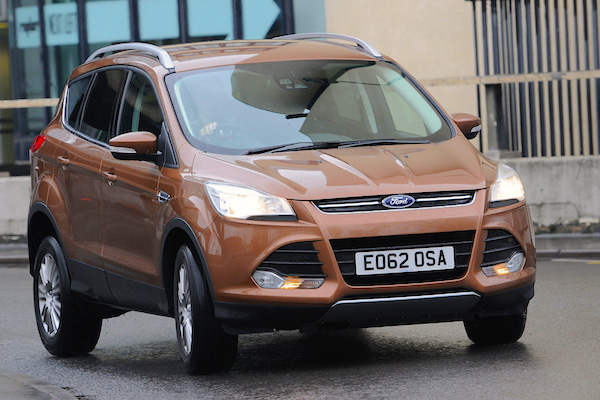 Ford Kuga UK August 2015. Picture courtesy autoexpress.co.uk