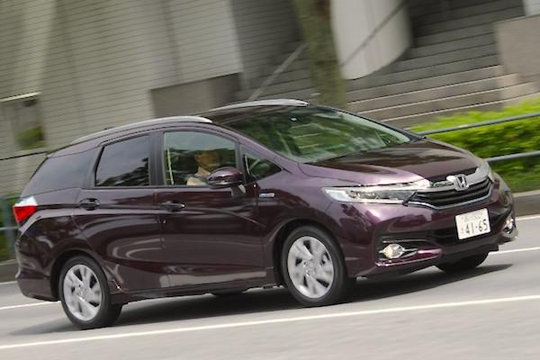 Honda Shuttle Japan August 2015. Picture courtesy autocar.jp