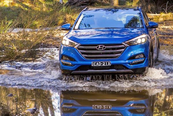 Hyundai Tucson Austria June 2016. Picture courtesy caradvice.com.au