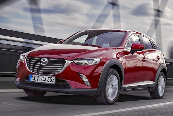 Mazda CX-3 Germany October 2015
