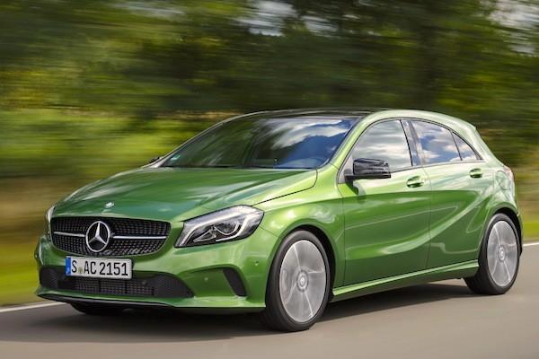 Mercedes A Class Frankfurt 2015