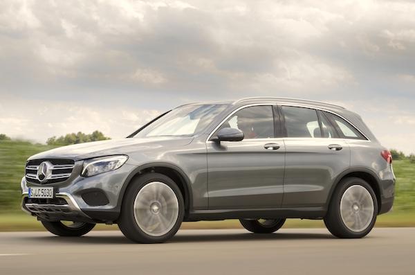 Mercedes GLC Frankfurt 2015