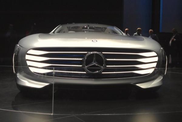 Mercedes IAA Concept Frankfurt 2015
